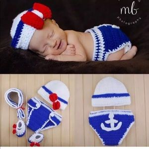 Other - Baby sailor outfit 4pc